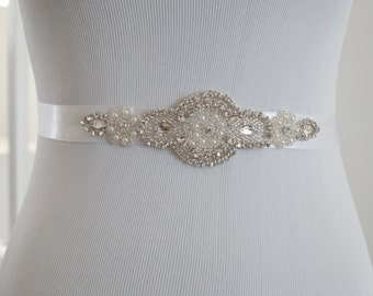 SALE - Wedding Belt, Bridal Belt, Bridesmaid Belt, Bridesmaid Belt,, Crystal Rhinestone, Style 219