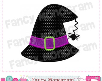 Witch hat applique,Witch,Halloween applique,Halloween,Witch hat applique,Halloween,Witch design.- 01