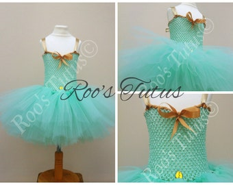 Jasmine (Aladdin) inspired tutu dress costume (Handmade). Princess, Dress up