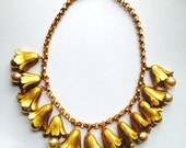 Vintage MIRIAM HASKELL Necklace Designer Signed
