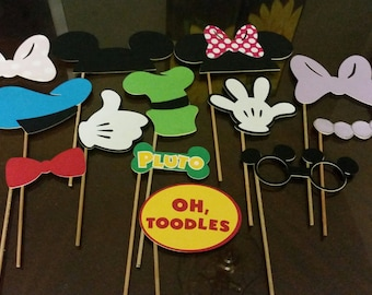 Mickey Mouse Clubhouse Photo Booth Props