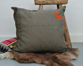 SALE 25%, now 29 euro. pillow with dear