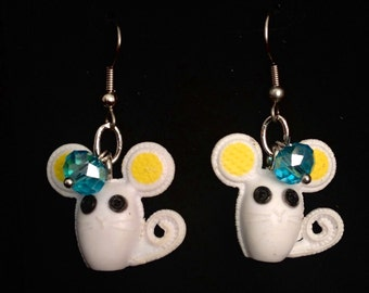 Mouse Earrings from Lalaloopsy!