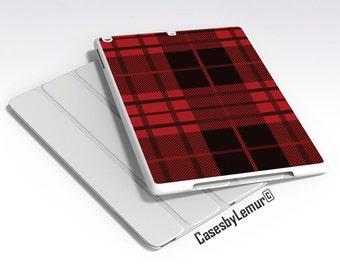 Red Plaid Ipad Case Ipad Air 2 Case Ipad Mini Case Ipad Cover Ipad 2 Case Ipad Air Case Ipad 3 Case Ipad 4 Case Ipad 5 Case Ipad Flip Case 6