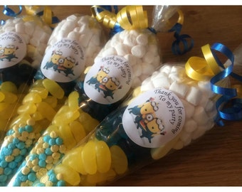 Minions themed party bag/sweet cone