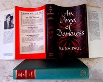 An Area of Darkness by Nobel Prize Winning Author  V S  Naipaul RPS London UK 1966 as NEW