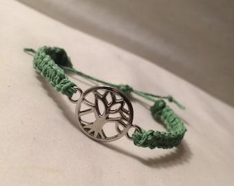 Tree of Life Hemp Bracelet