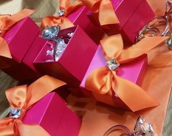 Bridesmaid Proposal/ Pink & Orange