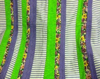 Baby blanket throw blanket baby shower gift purple and green baby blanket lap blanket purple and green throw blanket new baby gift