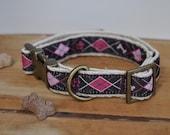 Hemp Dog Collar. Dog Coll...