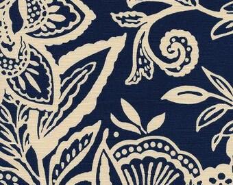Corrente Indigo, Fabric By The Yard