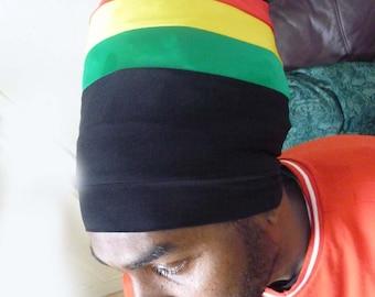Rasta coloured headwrap Boboshanti Sizzla Nyabinghi Rasta tam black tam royalnatty