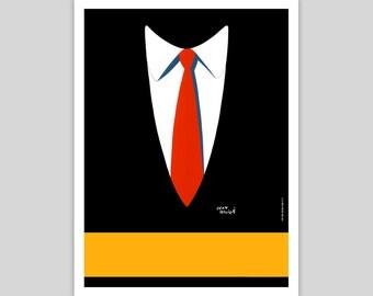 Le Cravate Vintage Poster