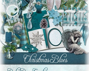 Christmas Digital scrap Kit