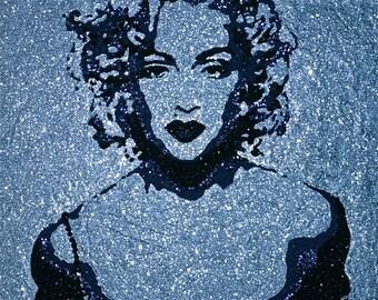 Madonna as Material Girl