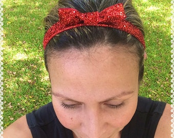 Snow White running headband / Dorthy headband