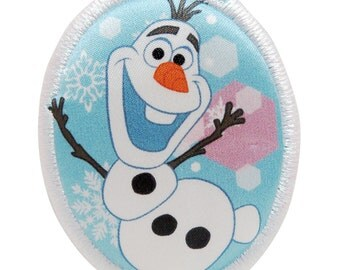 Disney Frozen Iron-On Patches Olaf