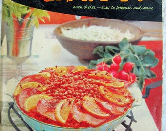Good Housekeeping's Casserole Cook Book, 1958, Vintage Cookbook