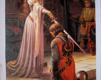 High quality handpainted the Accolate by Edmund Blair Leighton  oil painting reproduction for home decor wall art