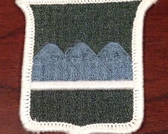 80th Infantry Division Training Patch