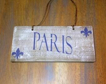 Paris Plaque