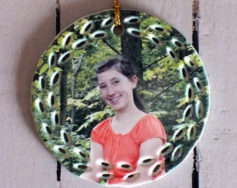 Christmas Ornaments, Photo Ornaments, Custom Ornaments, Christmas Tree Ornaments, Personalized Ornament, Engagement Ornament, Ornaments