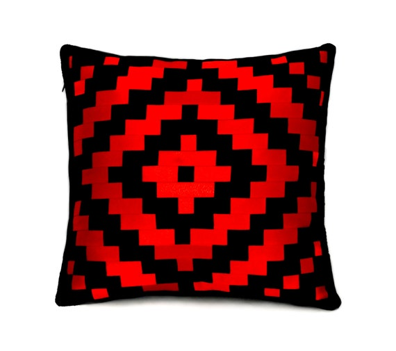 How To Make A Patchwork Throw Pillow : throw pillow cover patchwork pillow black pillow case