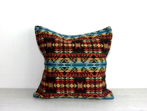 Southwestern Throw Pillow Covers : Southwestern Cushion Cover 16x16 Decorative Throw