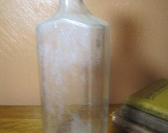 Vintage Owens Medicine Bottle 3 XVI