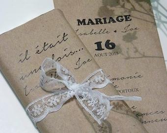 chocolate wedding invitations