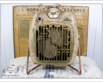 vintage fan heater - french shabby