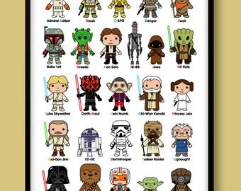 Popular Items For Luke Skywalker On Etsy