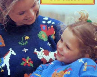 colorful knit for you and your child
