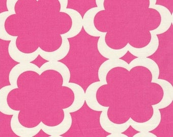 Pink Bloom Fabric by Dena Designs of Free Spirit