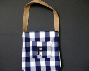 Carry bag made of cotton linen