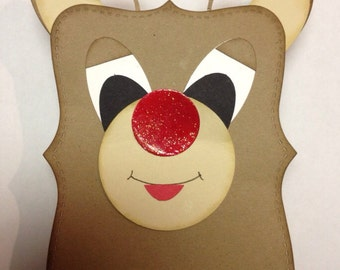 Reindeer gift box