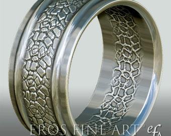 Ring No. 3  - Bandring - Men's Ring - Men's Jewelery - silverring – gift – sterlingsilver