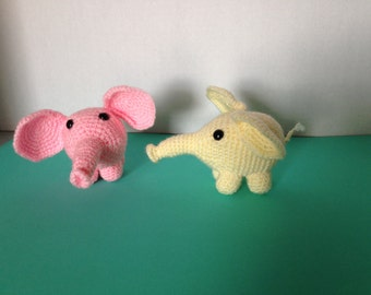 Handcrafted critters. Measure approximately 4 inches by 4 inches by 6 inches.