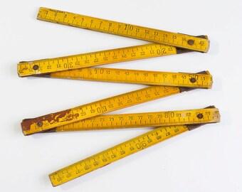 10% OFF German Measurer. Wooden Folding Ruler. Measuring Tool. Meter Ruler. Carpenter Measurer. Foldable Ruler Folding meter measuring stick