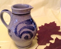 Salt glaze Pottery pitcher