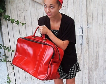 Vintage: lovely rockabilly bag from the 50s