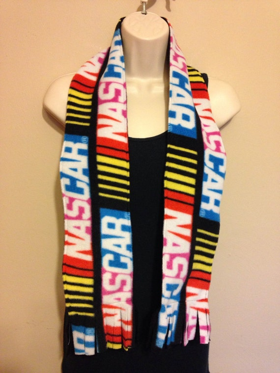 how to make a double sided fleece scarf