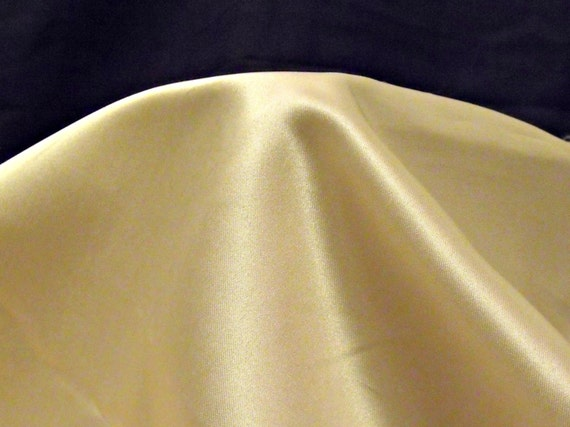 """ivory polyester dress making fabric, craft fabric, unused remnant fabric, wedding material,  56"""" x 27"""","""