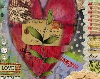 Love Embrace Print