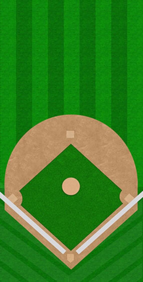 Free Shipping Baseball Field Themed Cornhole Board Prints