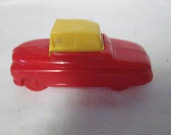 """Vintage Hard Plastic Car Pencil Sharpener 2 3/4"""" long"""