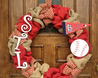 St. Louis Cardinals Wreath