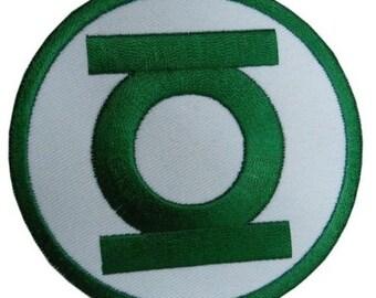 Green Lantern Iron On/Sew On Patch w/ Free Shipping!