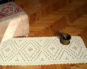 Rectangular Crochet Doormat