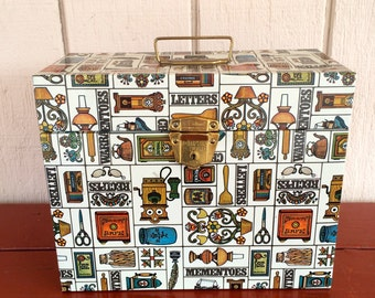 Porta File by Ballonoff, Decoratively Illustrated with Lock and Key